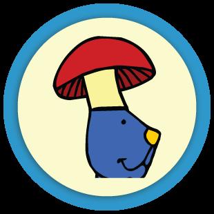 Coloriage de champignons