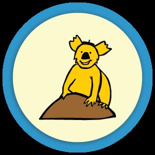 The Koala family puzzle