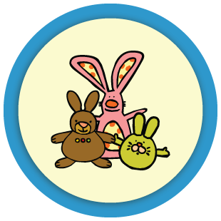Combien de doudous lapins ?