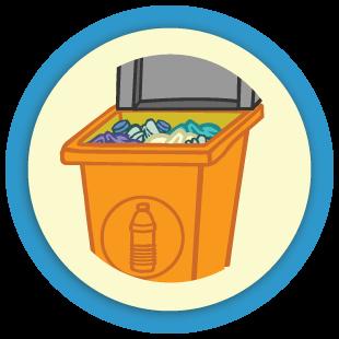 Trie les déchets