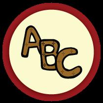 L'alphabet en pain d'épice