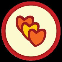 Kwala's heart maze.