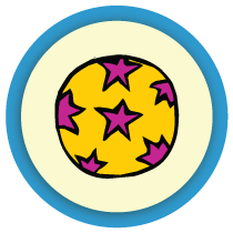 Un cirque à colorier